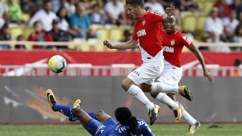 Jovetic, il primo gol con il Monaco
