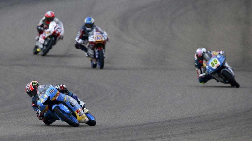 Moto3, la pole va a Martin