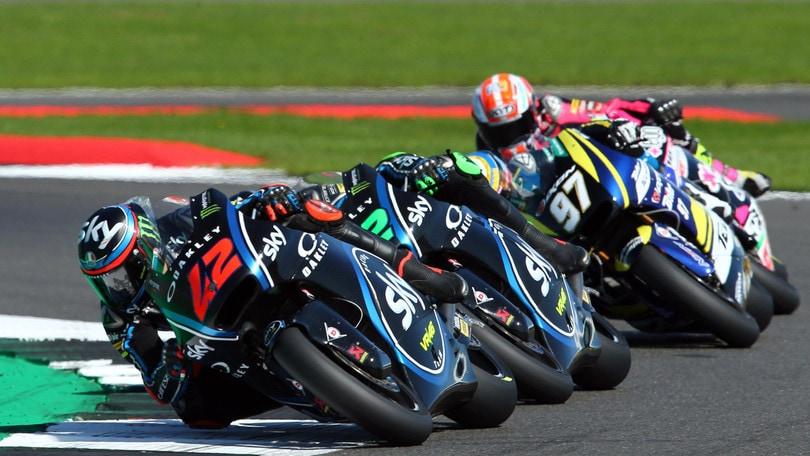 Moto2 Aragon, Sky Team: Bagnaia chiude in top ten