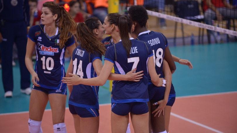 Volley: Europei Femminili, l'Italia soffre ma poi doma la Bielorussia