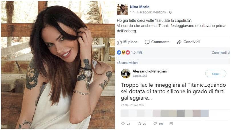 Napoli, botta e risposta tra Nina Moric e l'agente di Sarri
