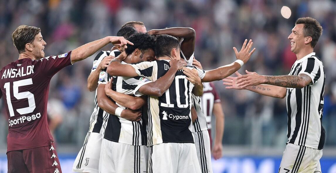 Serie A, Juventus-Torino 4-0: festa derby con Dybala, Pjanic e Alex Sandro
