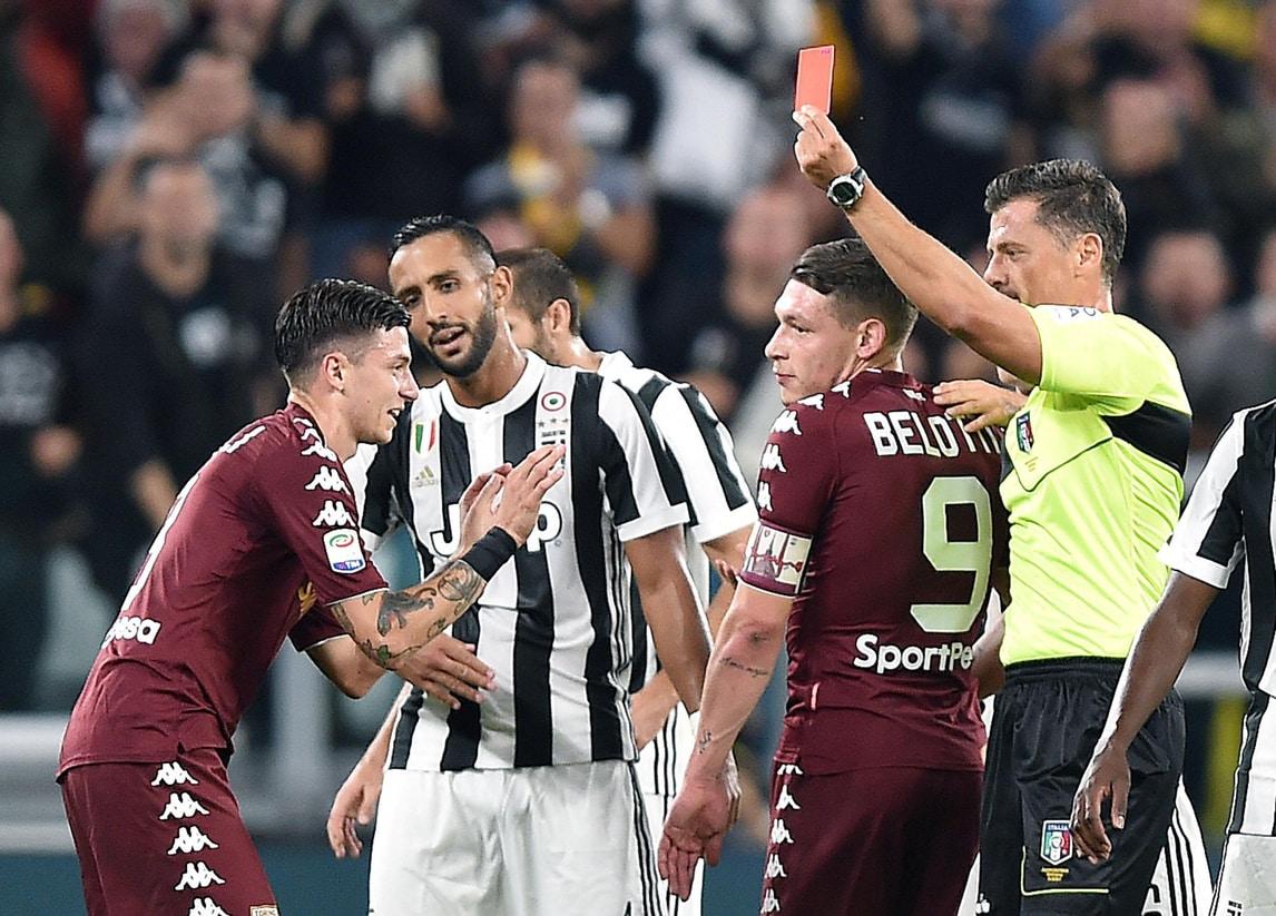 Juventus-Torino, Baselli chiede scusa: «Mi assumo tutte le responsabilità»