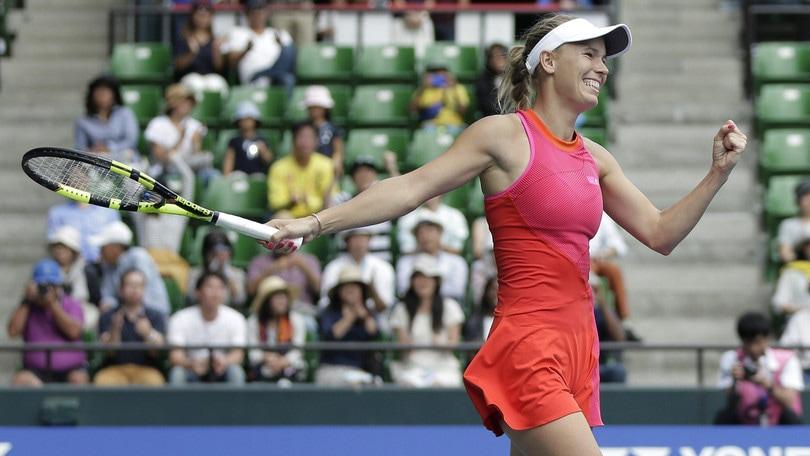 La Wozniacki trionfa a Tokio, vittoria dopo un anno