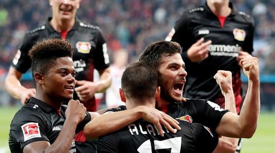 Bundesliga: tris del Bayer Leverkusen all'Amburgo