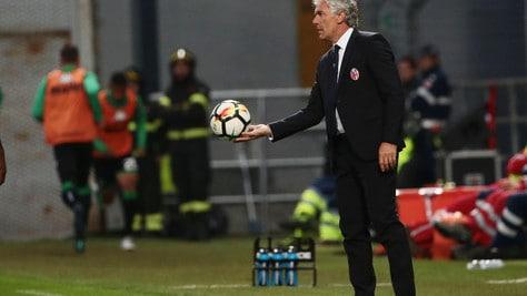 Serie A Bologna, Donadoni: «Grande reazione, non fermiamoci»