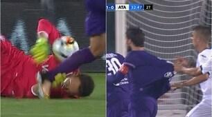 Fiorentina-Atalanta 1-1, ecco i due rigori negati ai viola