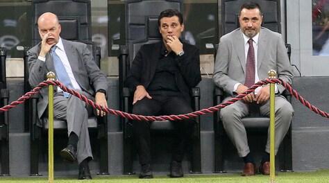 Milan, Fassone e Mirabelli a colloquio con Montella