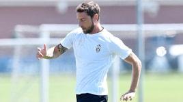 Juventus, Marchisio e Khedira in gruppo
