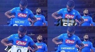Napoli-Feyenoord, la maglia sbagliata di Zielinski scatena i meme