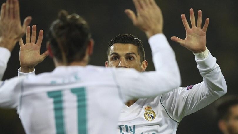 Real Madrid, Cristiano Ronaldo: «Il rinnovo? Chiedete a Perez, non a me»