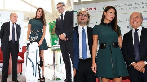 Spettacolo Open d'Italia, la madrina è Ilaria D'Amico