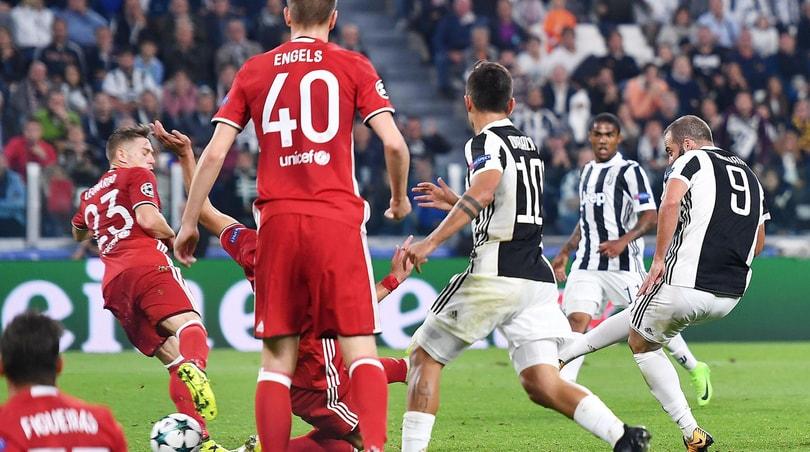 Champions League, Juventus-Olympiacos 2-0: decidono Higuain e Mandzukic