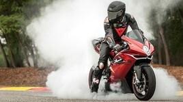 MV Agusta F4 RC, edizione limitata Lewis Hamilton: foto