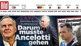 Ancelotti esonerato:le reazioni della stampa estera
