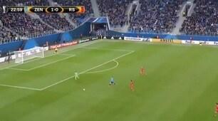 Zenit-Real Sociedad, clamorosa papera di Rulli: la fotosequenza