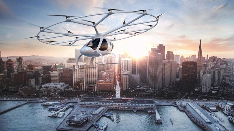 Volocopter, il primo eli-taxi a guida autonoma