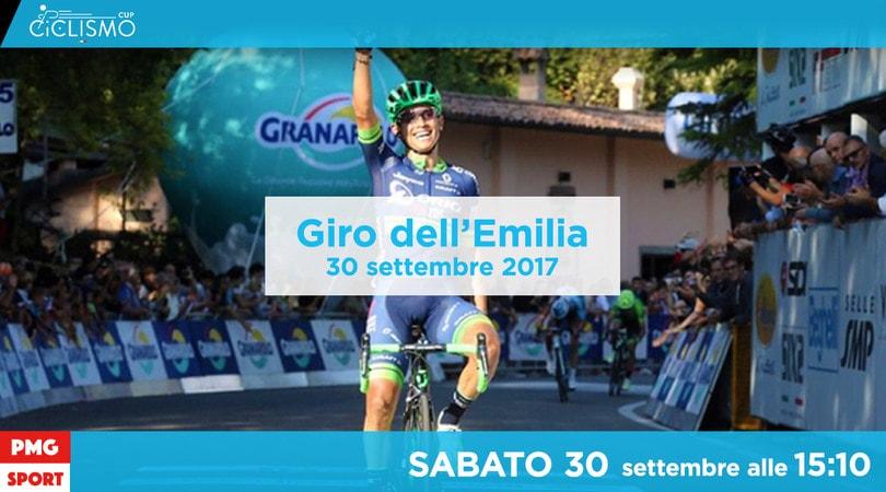 Ciclismo Cup, Giro Emilia: sfida tra Nibali, Aru, Pinot e Landa (segui LIVE)