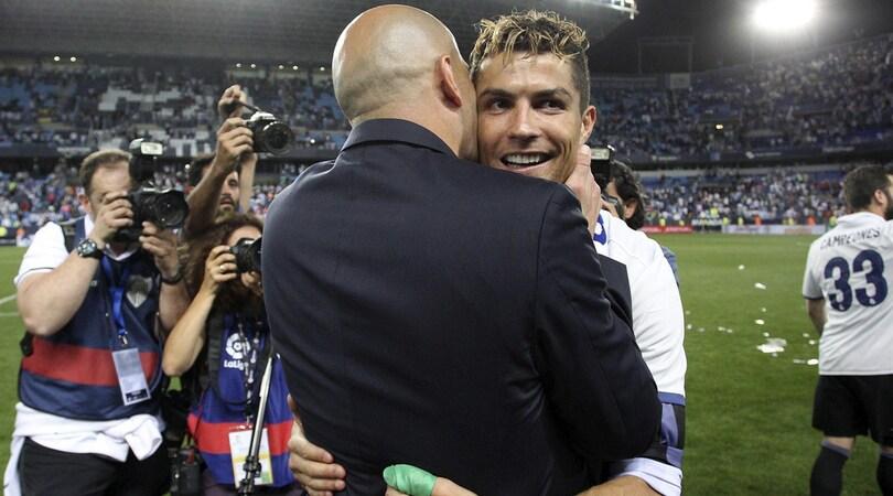 Real Madrid, Zidane: «Rinnovo di Cristiano Ronaldo? Non metto bocca»