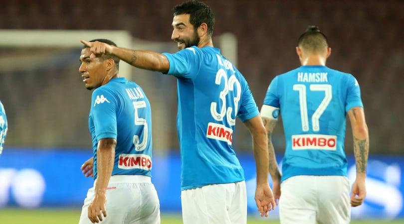 Napoli, Sarri ritrova Albiol: in 40.000 al San Paolo