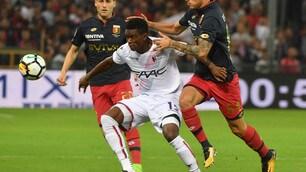 Genoa-Bologna: il film della partita