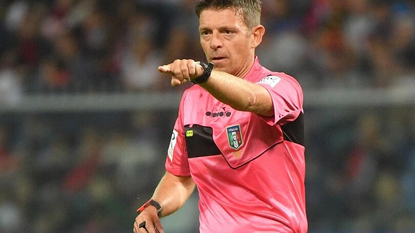 Serie A Roma-Napoli, arbitra Rocchi. Juventus-Lazio: Mazzoleni