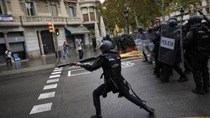 Barcellona, tensioni in tutta la regione per il Referendum