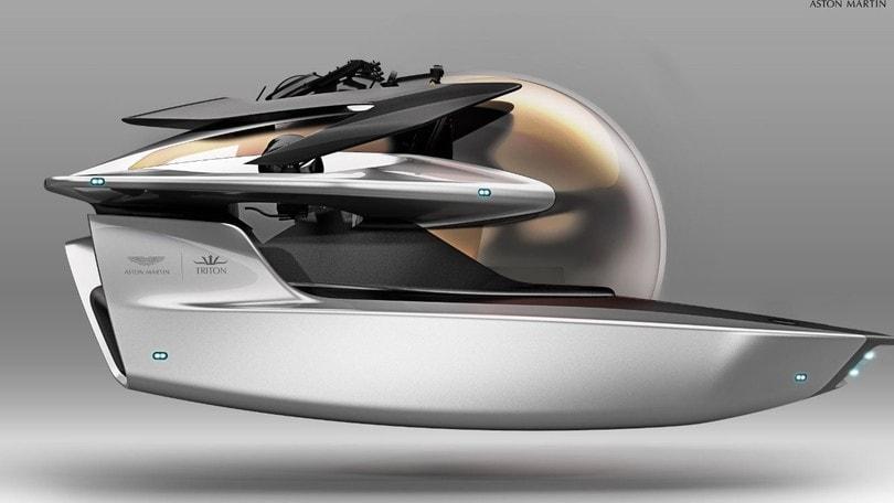 Presentato a Monaco il sommergibile firmato Aston Martin