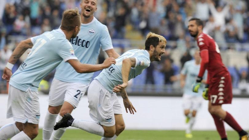 Serie A Lazio-Sassuolo 6-1, il tabellino