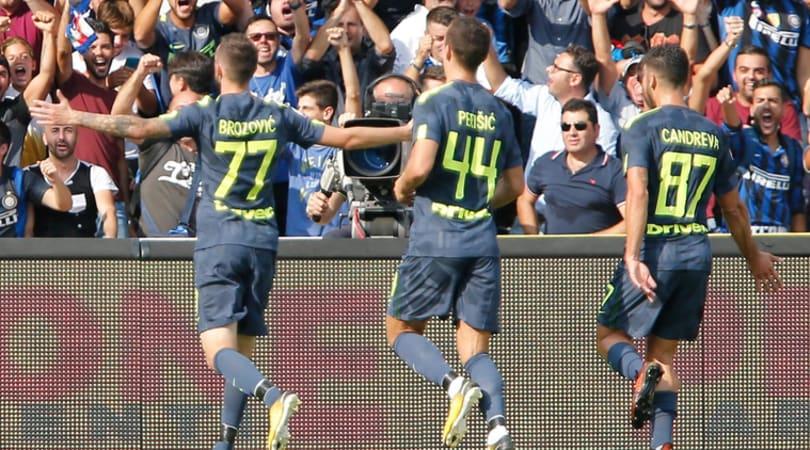 Serie A, Benevento-Inter 1-2: doppietta di Brozovic e gol di D'Alessandro