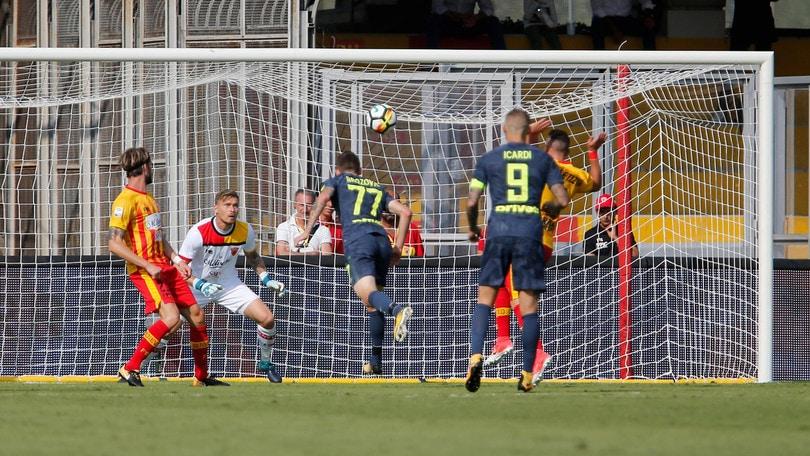 Serie A Benevento-Inter 1-2, il tabellino