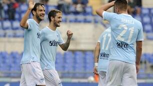 Serie A, Lazio straordinaria all'Olimpico: Sassuolo ko 6-1