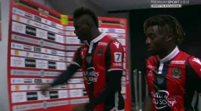 Ligue 1, il Nizza si fa rimontare dal Marsiglia. Balo segna, poi s'infuria