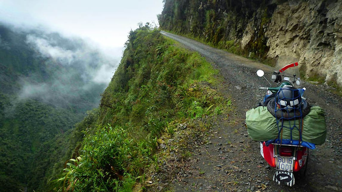 <div>Il viaggio di Ilario Lavarra con un obiettivo affascinante: percorrere 50.000 km in 3 anni in sella alla sua &ldquo;Ardimentosa&rdquo;</div>  <div>&nbsp;</div>
