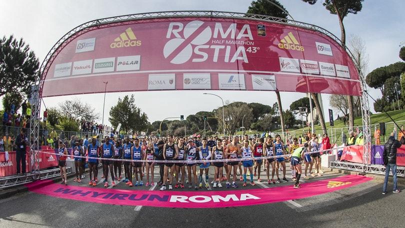 Atletica - RomaOstia, già 4.234 iscritti per la corsa dell'11 marzo 2018