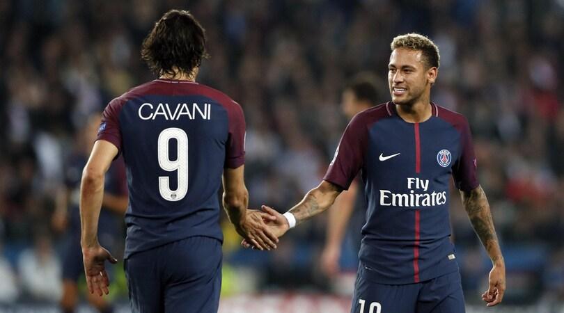 «Così Neymar ha 'domato' Cavani». E le pretendenti al 'Matador' sperano