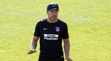 Simeone: «Il mio futuro? Dove meglio dell'Atletico Madrid?»