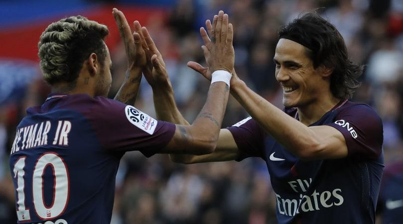 Cavani: «Neymar? Sono cose che succedono»