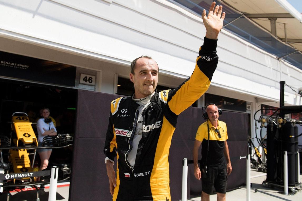 F1, Kubica sulla Williams nei test di Abu Dhabi