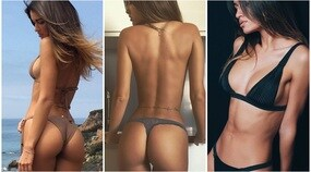 Carlotta Tadolini in bikini: i social impazziscono