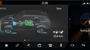Range Rover Sport Hybrid 2018: foto