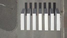 Islanda: le strisce pedonali 3D