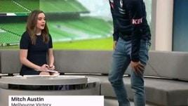 Australia, l'attacco di panico in diretta tv