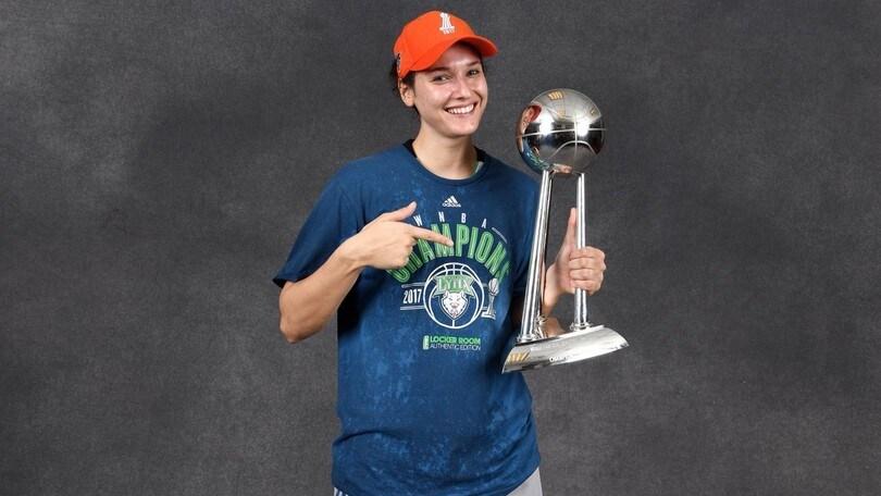 WNBA, Zandalasini vince l'Anello con le Lynx