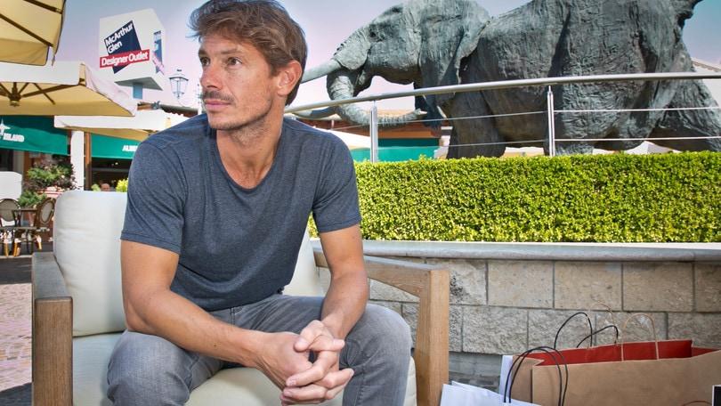 """Giorgio Pasotti porta la """"sua valigia"""" a Castel Romano"""