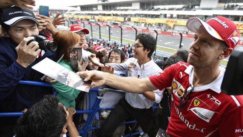 F1, Giappone: assalto Vettel, vittoria a 2,62