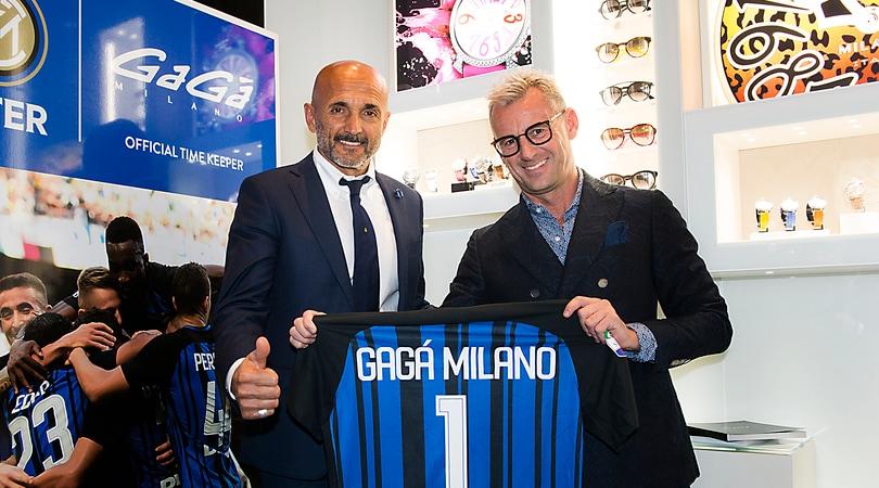 GaGà Official time keeper di FC Internazionale Milano