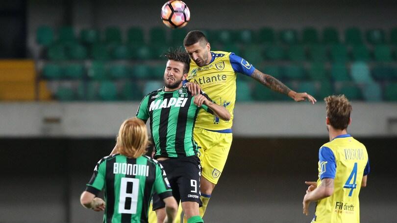 Serie A Chievo-Ambrosiana 2-0: Gamberini gol