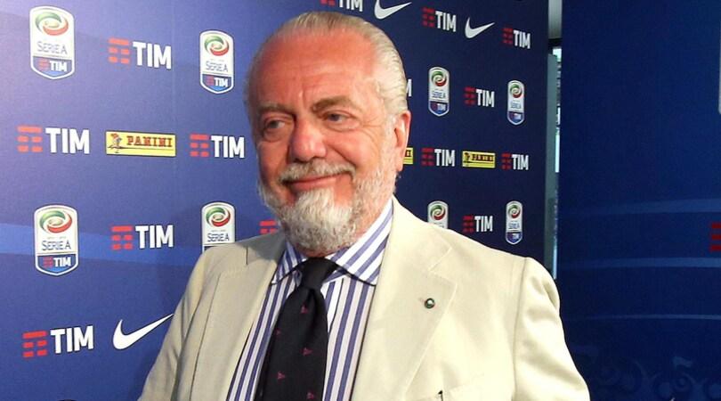 De Laurentiis: Napoli primo con merito. Sarri qui altri 10 anni