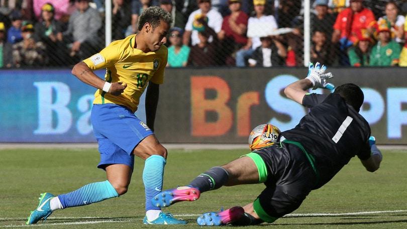 Qualificazioni Mondiali, Bolivia-Brasile 0-0: Thiago Silva, malore per l'altitudine